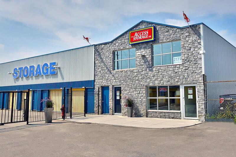 La succursale Access Storage – Burlington Ouest, située au 2177 Plains Road Est, a la solution d'entreposage qu'il vous faut. Réservez dès aujourd'hui!