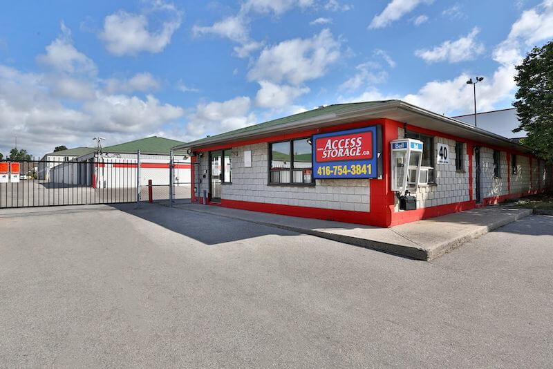 Rent Scarborough storage units at 40 Metropolitan Rd. We offer a wide-range of affordable self storage units and your first 4 weeks are free!