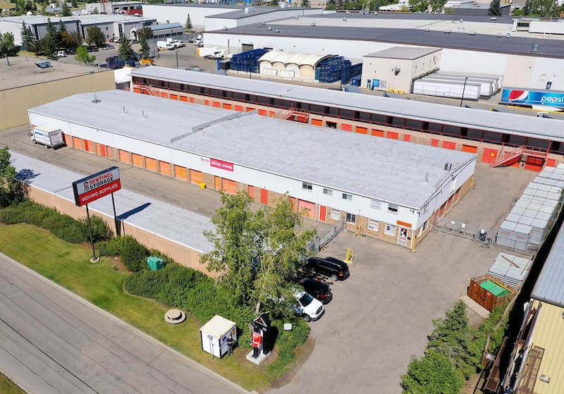 Rent Calgary storage units at 4810 80th Ave S.E. We offer a wide-range of affordable self storage units and your first 4 weeks are free!