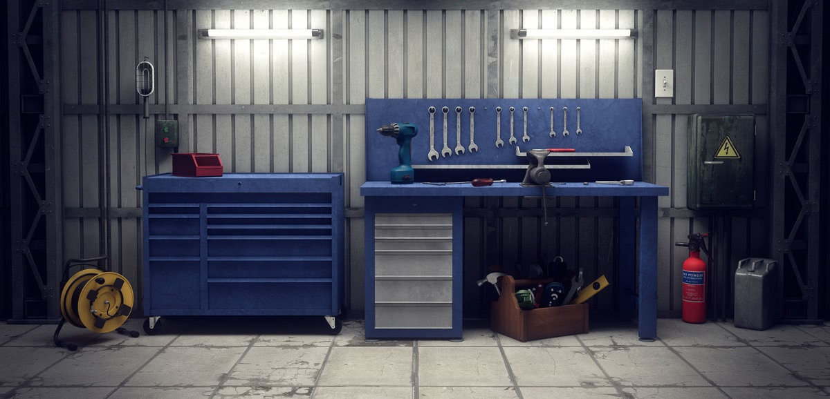 supply and tool storage